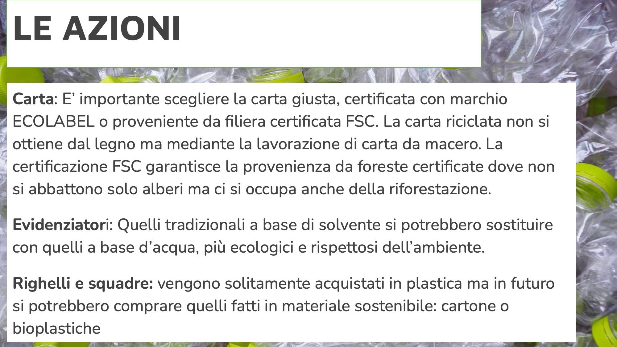 Cancelleria sostenibile 5